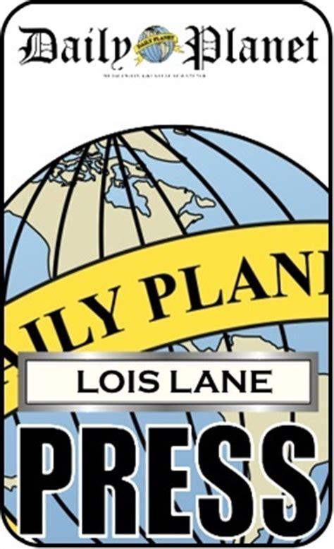 lois lanes daily planet press pass lois lane