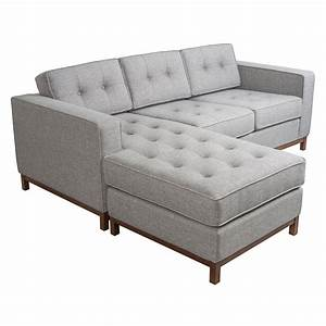 Gus modern jane loft bi sectional p stone wood eurway for Jane bi sectional sofa by gus modern