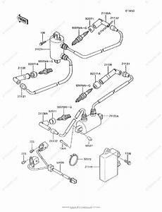 Kawasaki Motorcycle 1994 Oem Parts Diagram For Ignition