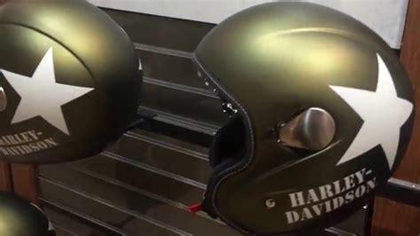 Новый шлем Military Retro Harley-davidson