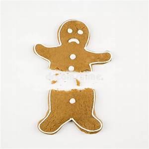 Broken Gingerbread Man. Royalty Free Stock Photo - Image ...