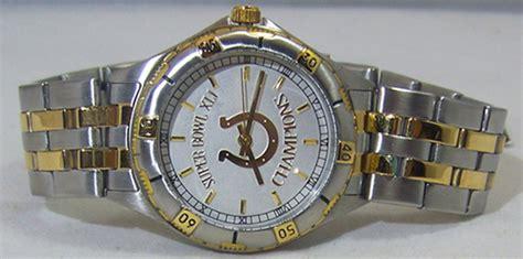 Indianapolis Colts Super Bowl Xli Watch Gold Logo Mens