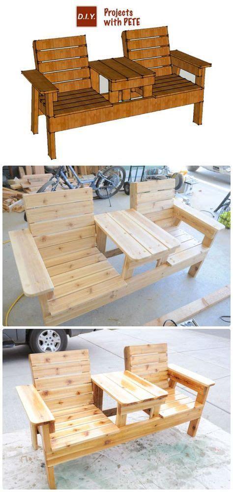 diy outdoor patio furniture ideas  plan picture