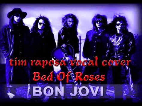 tim raposa bed  roses bon jovi karaoke vocal cover