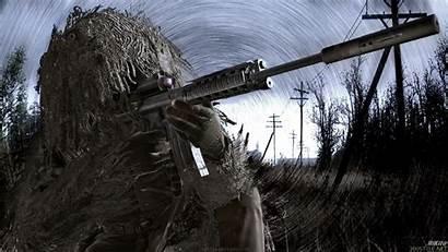 Duty Call Sniper Cod Wallpapers Warfare Modern