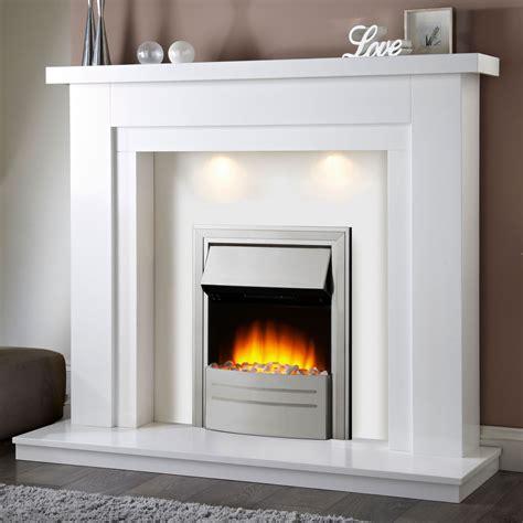White Electric Fireplace Aifaresidencycom