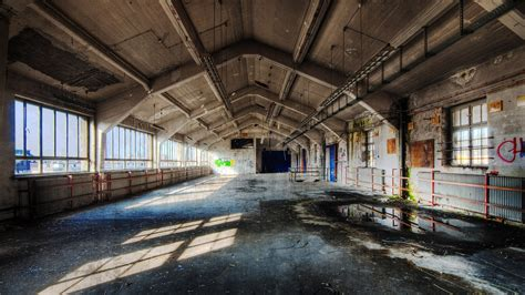 urban exploration empty hall abandoned post office preview