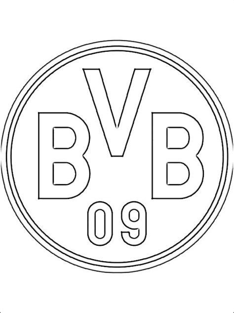 Dortmund Kleurplaat kleurplaten borussia dortmund gratis kleurplaten