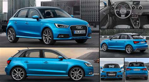 Audi A1 Sportback (2015)  Pictures, Information & Specs
