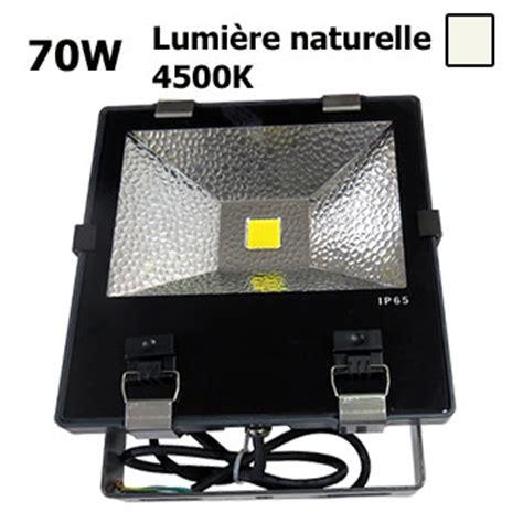 projecteur led 70w ext 233 rieur etanche eclairage naturel industriel parking tennis fa 231 ade