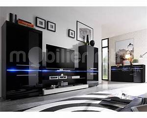 Grand Meuble Tv Noir Meuble Et Dco
