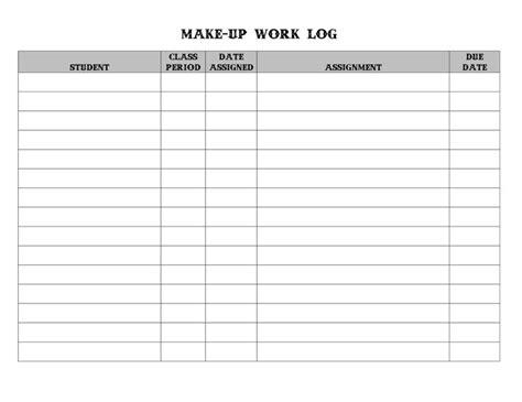 work log    everyday   check