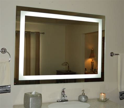 Bathroom Mirror Lights Led by Lighted Bathroom Vanity Mirror Led Wall Mounted 48