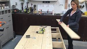 How to Build Wood Tabletop - YouTube