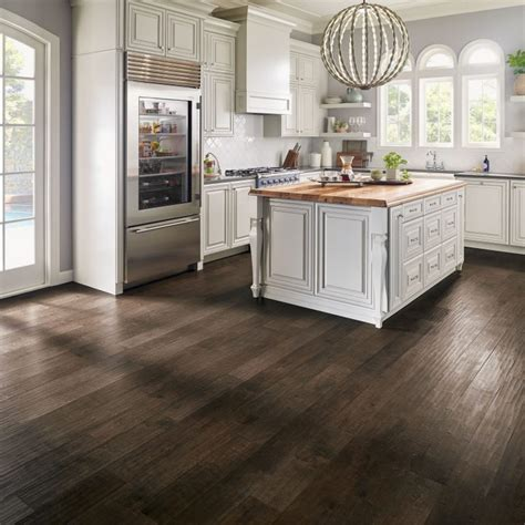 brown floor tiles kitchen kitchen flooring guide armstrong flooring residential 4937