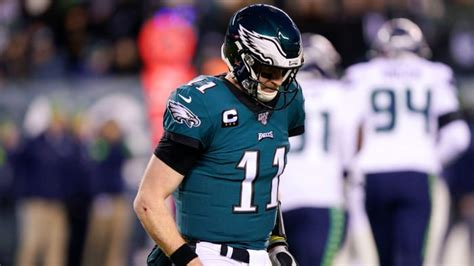 nfl playoffs injuries befall eagles  wild card loss