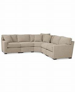 radley fabric 5 piece sectional sofa shops sectional With radley 5 piece fabric sectional sofa with apartment sofa
