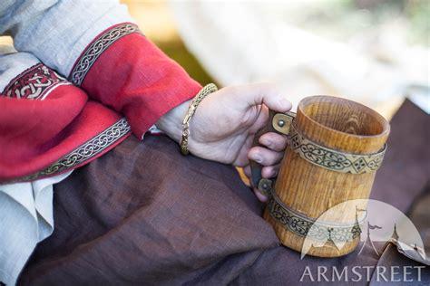 viking bracelet arm ring dragon heads