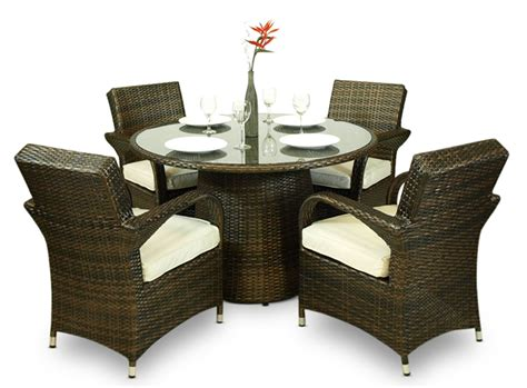 arizona rattan wicker garden furniture set outdoor patio
