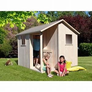 Maisonnette Enfant Pas Cher : maisonnette en bois topiwall ~ Melissatoandfro.com Idées de Décoration