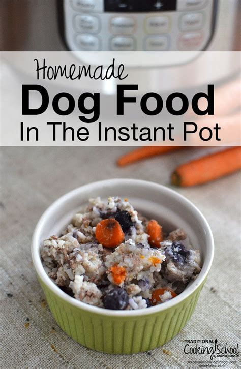 check  homemade dog food   instant pot