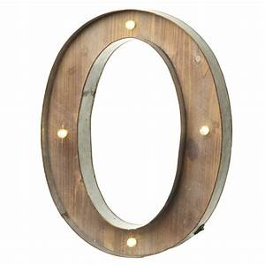 light up led letter o laura godbold design With letter o light