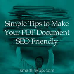 Seo For Pdf Documents Tips Make Document Friendly