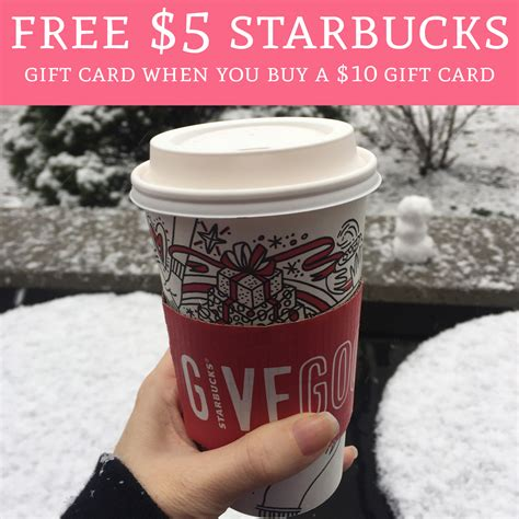 Check spelling or type a new query. FREE $5 Starbucks Gift Card When You Buy a $10 Starbucks Gift Card - Deal Hunting Babe