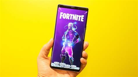 fortnite  android  temporarily  samsung exclusive cnet