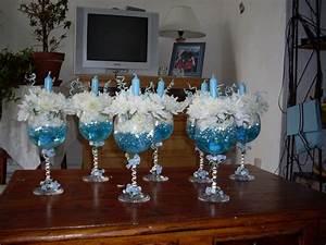 Decoration Pour Bapteme Fille : deco bapteme centre de table ~ Mglfilm.com Idées de Décoration