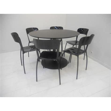 tables de cuisine rondes set table 6 chaises quot riva quot achat vente table de