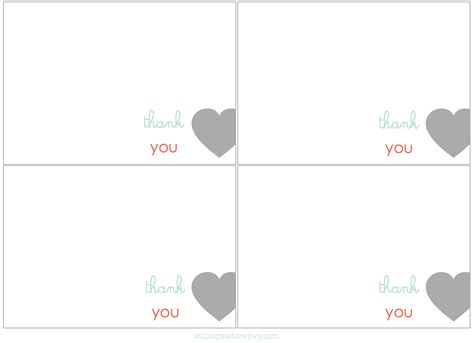 free thank you notes templates thank you card template thank you cards free print for