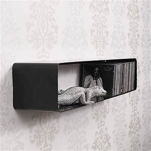 Cd Aufbewahrung Design : xxl lounge design cd regal cube retro m bel multimedia wandregal 120cm schwarz ebay ~ Sanjose-hotels-ca.com Haus und Dekorationen