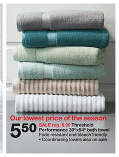 target threshold bath towels for 3 50 my frugal