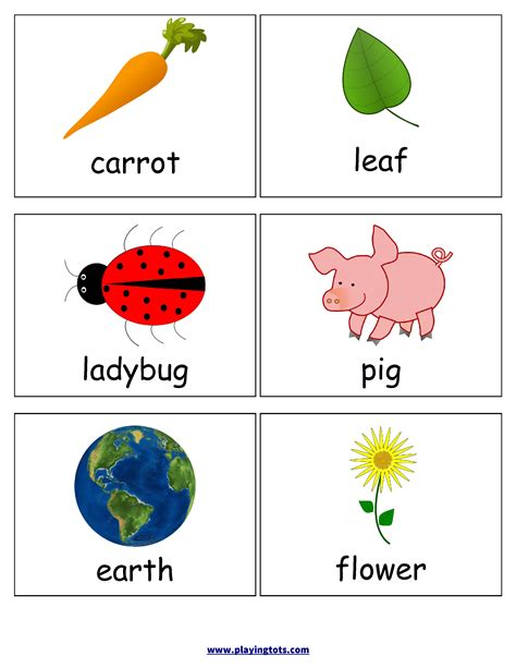 First Words Flash Cards For Your Toddler Keywords Picture,cards,free,printable,preschool,baby