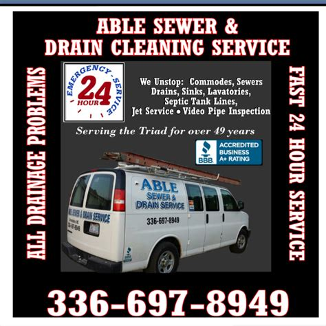 sewer drain cleaning reviews greensboro nc