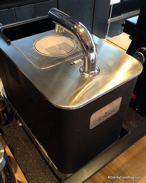 The clover's price is similar to or less than many espresso machines. Full Review: West Side Starbucks in Disney World's ...