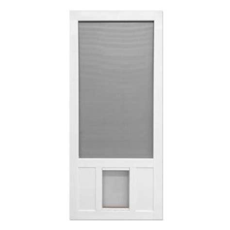pet doors home depot screen tight 36 in x 80 in chesapeake series reversible