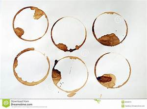 Coffee Rings Stock Photo - Image: 8203910