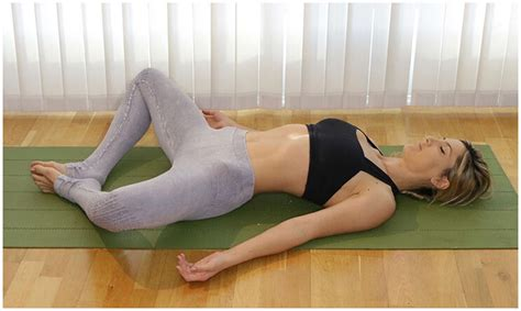 This pose works well in lengthening inner thighs tissues, hip flexors, hamstrings, and the lower back. 5 Essential Yin Yoga Poses for Stress Relief | PaleoHacks