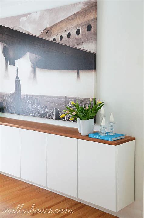 Nalle's House Diy Floating Sideboard  Diy Furniture