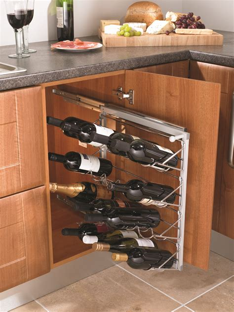 pull out kitchen storage racks wine racks for your kitchen 7608