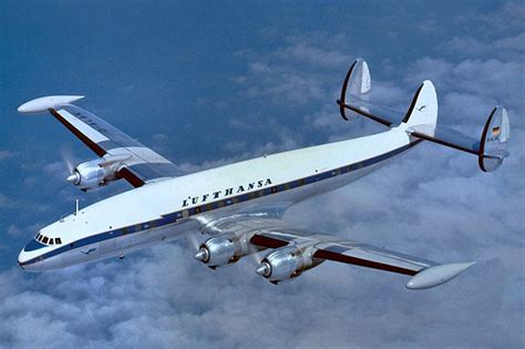 bureau lufthansa crash of a lockheed l 1049g constellation in de