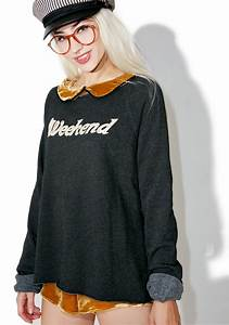 Wildfox Couture Wildfox Weekend Morning Sweatshirt | Dolls ...