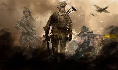 Mw2 Warfare Modern Wallpapers Background Ghost Duty