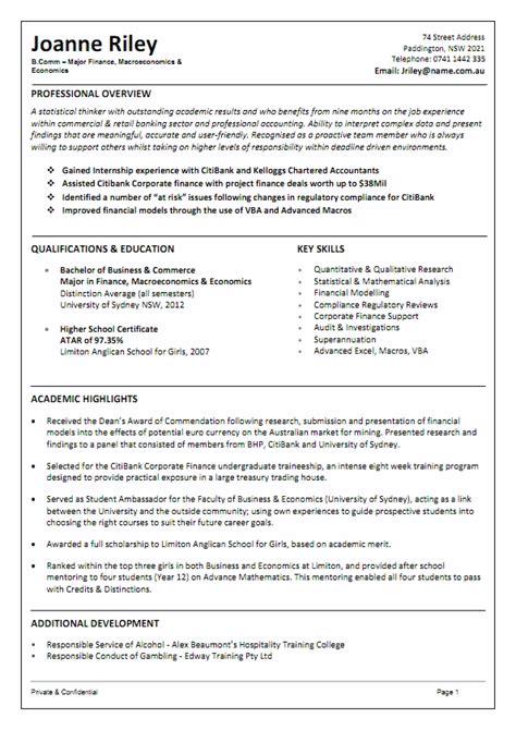 australian resume samples cover letter resume ideas