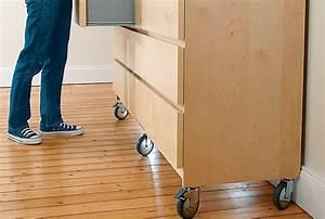Meuble Tv Roulettes Ikea : installer des roulettes sous un meuble ~ Melissatoandfro.com Idées de Décoration