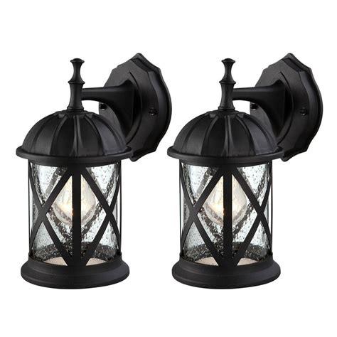 outdoor exterior wall lantern light fixture sconce twin
