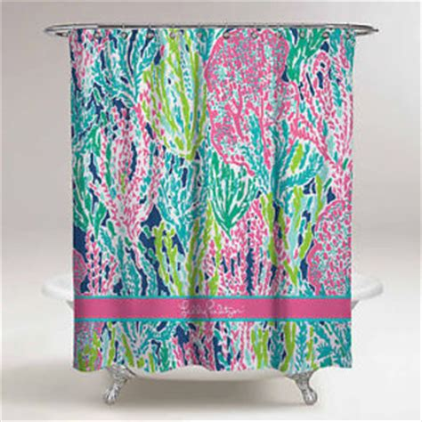 lilly pulitzer bath accessory sets shower curtains