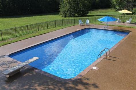 ground pool gallery aloha pools spas family